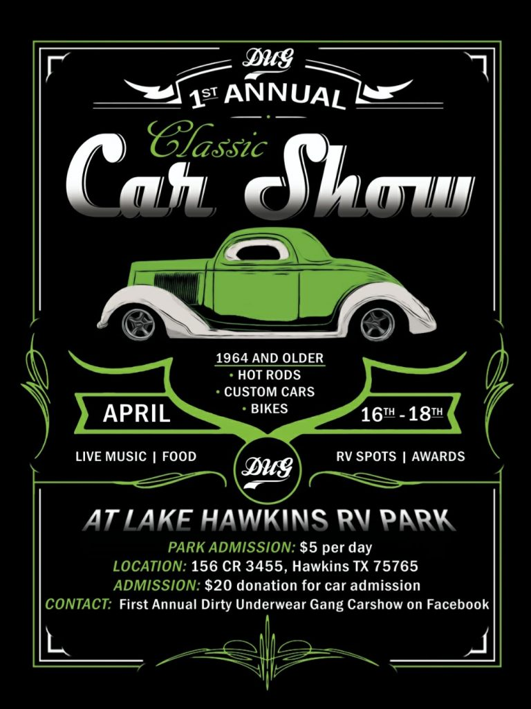 Lake Hawkins Car Show