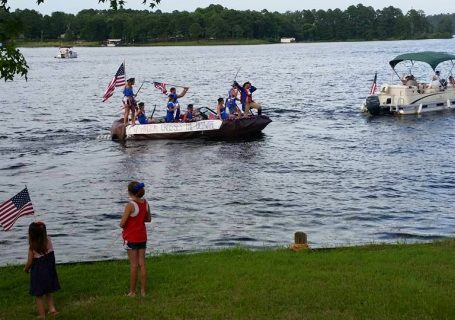 Lake Hawkins 4th of July Flotilla