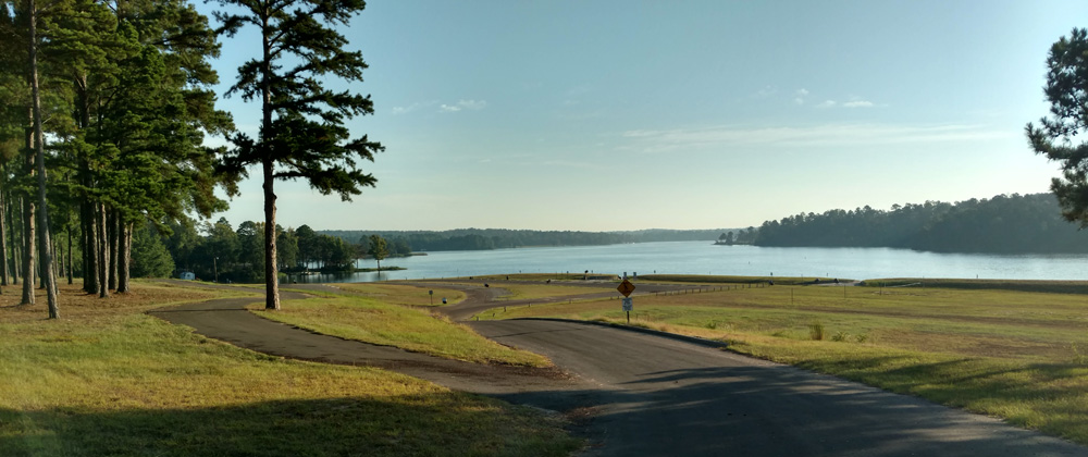 Lake Hawkins RV Park Overlooking Lake