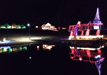 Lake Hawkins Christmas Lights