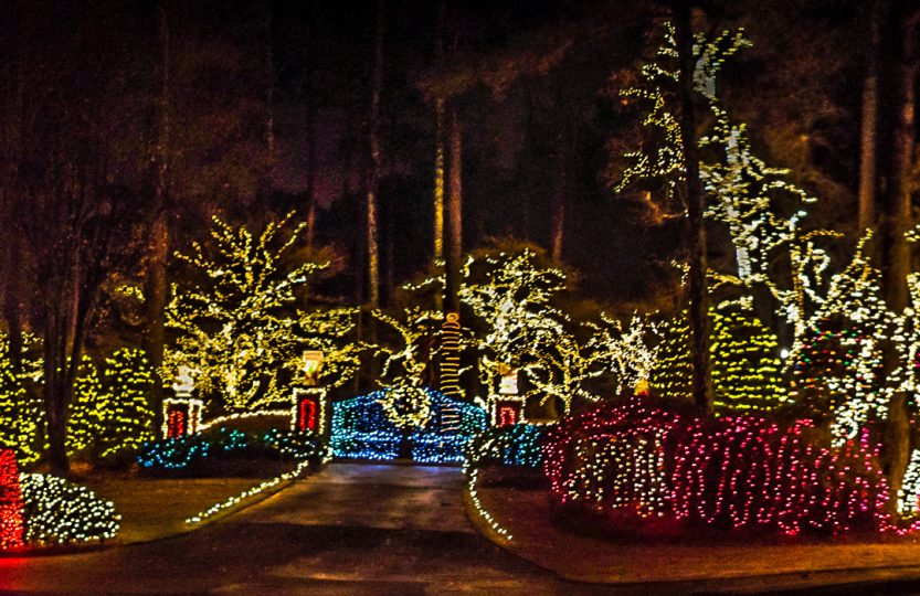 Lake Hawkins Christmas Lights