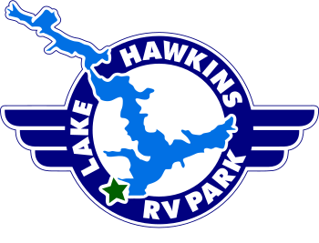 Lake Hawkins RV Park Logo