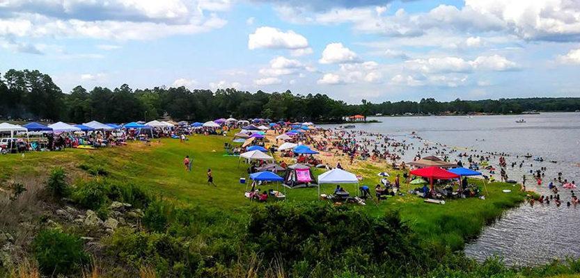 Lake Hawkins July 4th Fireworks
